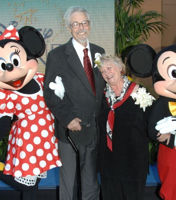 THE VOICE OF MICKEY MOUSE MARRIED THE VOICE OF MINNIE MOUSE