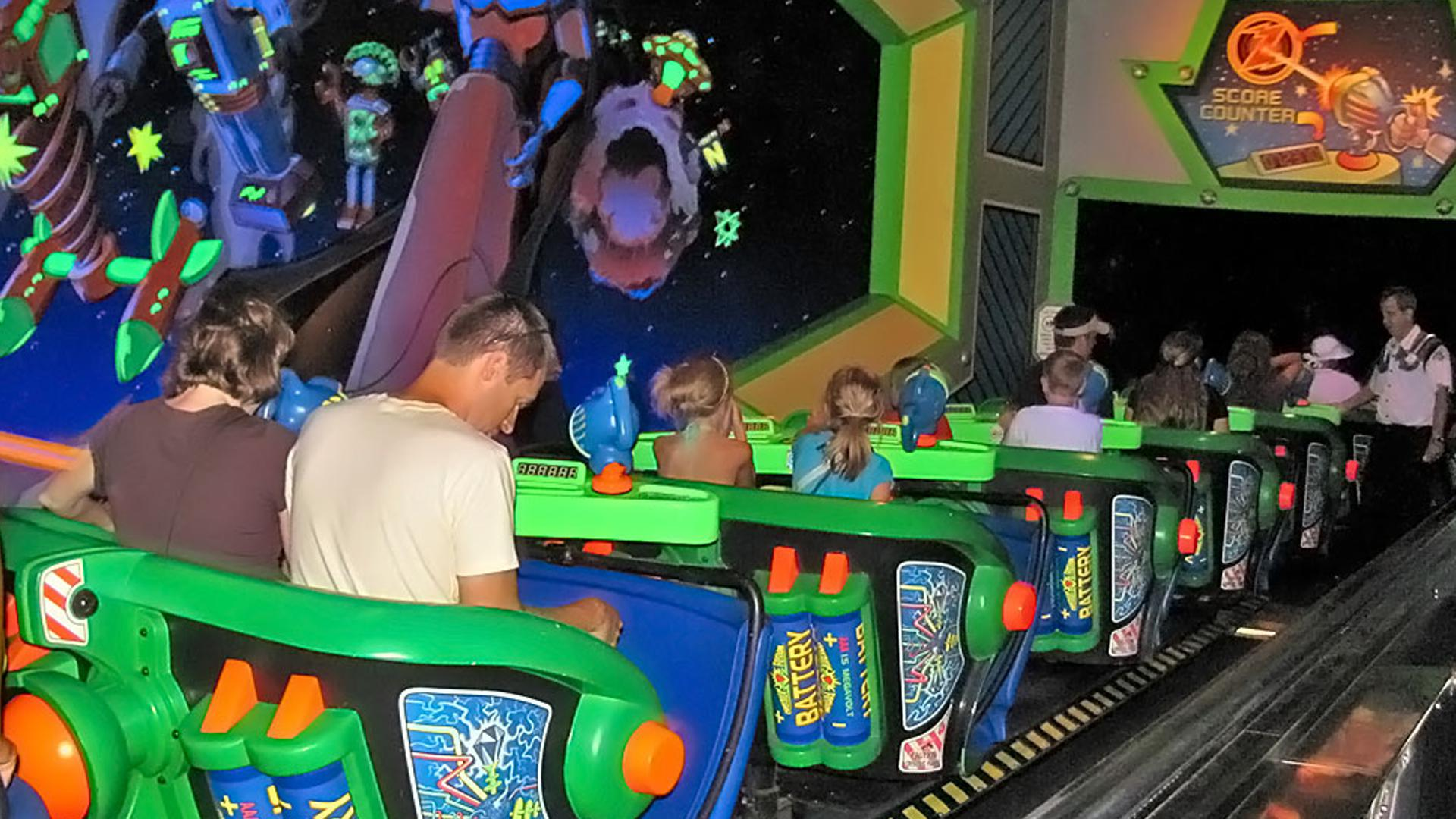 Buzz Lightyear S Space Ranger Spin Orlando Tickets