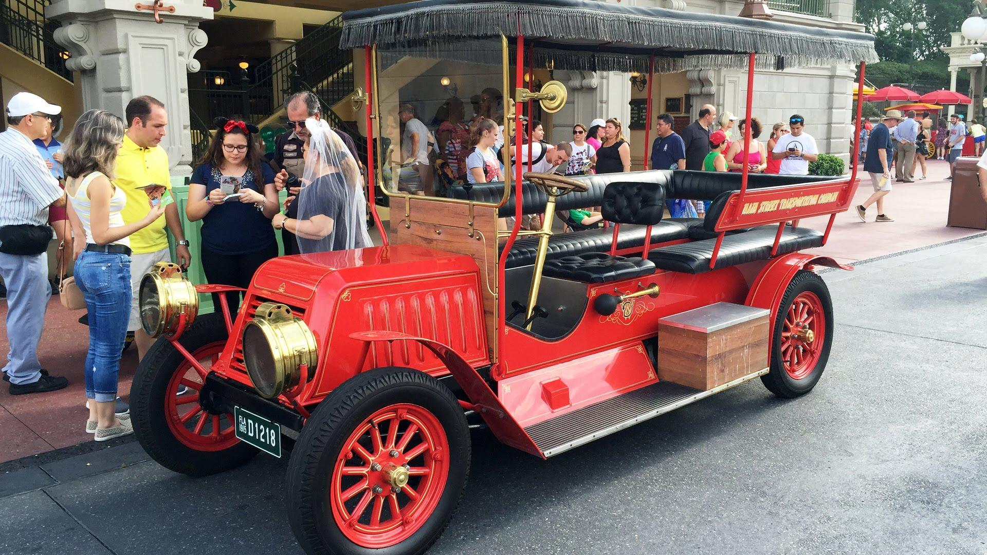 Old Fashioned Cars >> Main Street Vehicles - Orlando Tickets, Hotels, Packages