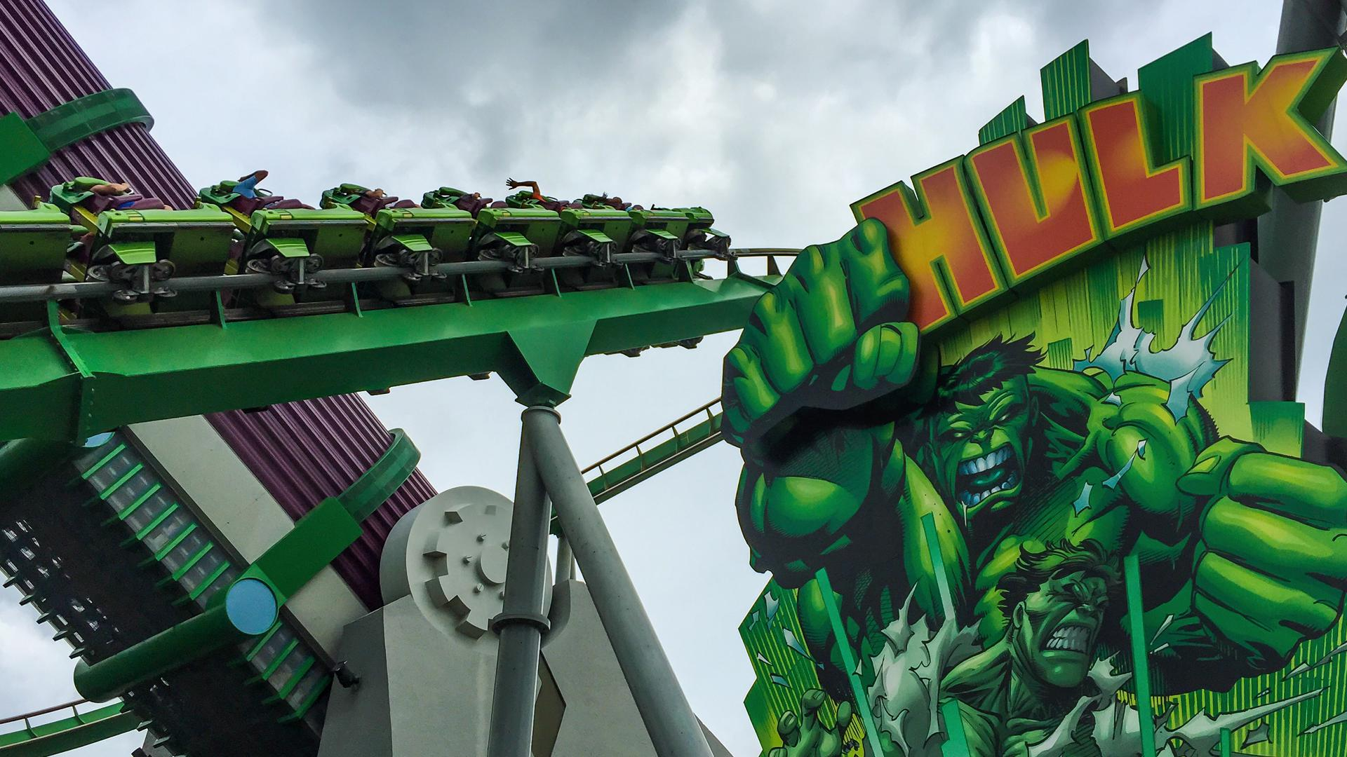 Incredible Hulk Coaster Orlando Tickets Hotels Packages