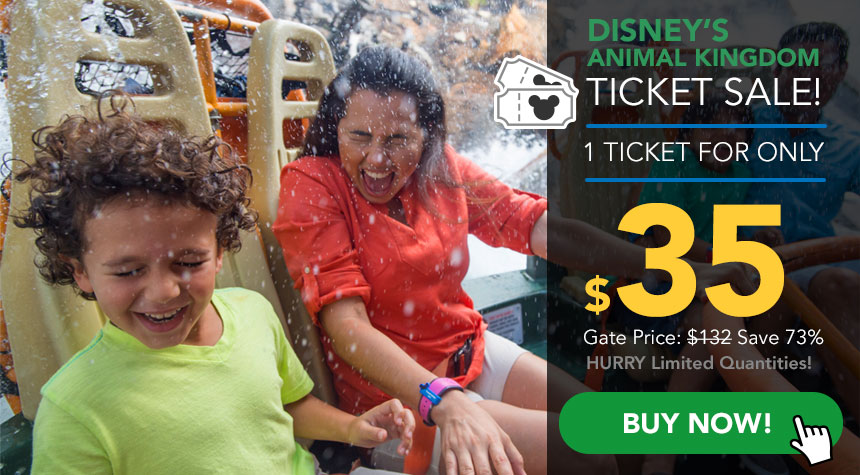 Find the best discount Animal Kingdom ticket rates on the net. We also offer vacation packages starting at $ that include 3 days hotel stay. This offer is only available by phone.