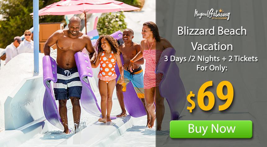 Discount blizzard beach tickets orlando destination guide for Cheap summer beach vacations