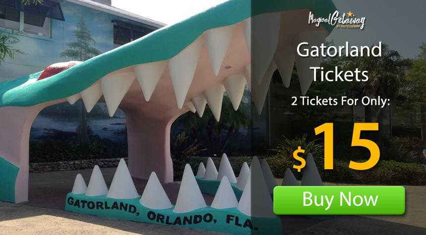 Gatorland orlando coupons discounts