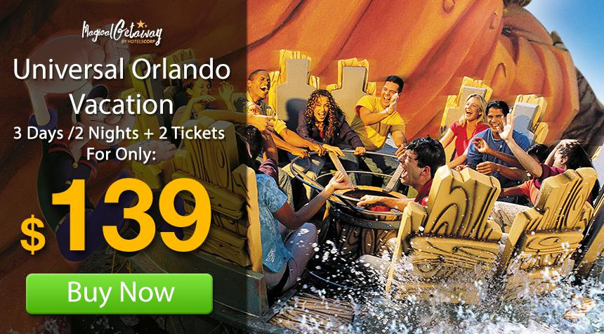 Universal Orlando Promo Codes Special Savings Worth Screaming For. from. $30 DEAL. Recommend. Universal Orlando Resort Universal Studios Plaza Orlando, Florida Universal Orlando's Resort hotels: Loews Portofino Bay Hotel Universal Blvd Orlando, FL