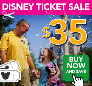 Disney Ticket Sale