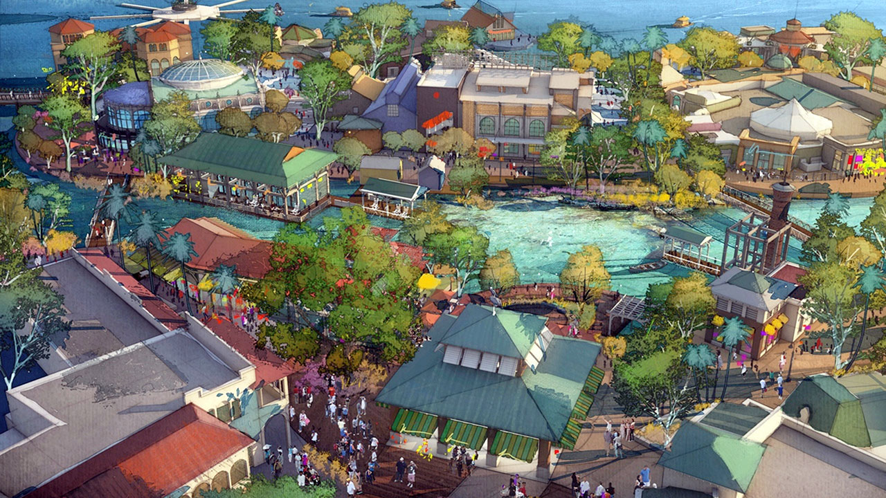 Disney springs reveals new dining and shopping stores for New anthropologie stores opening 2016