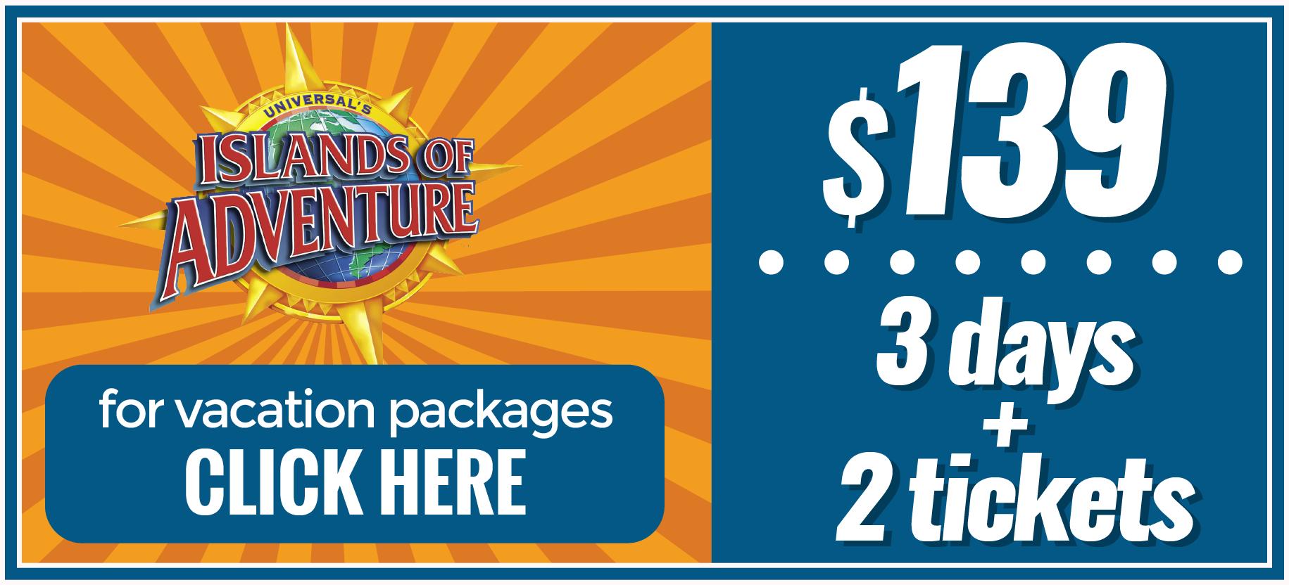 Orlando Discount Vacation Packages Orlando Tickets