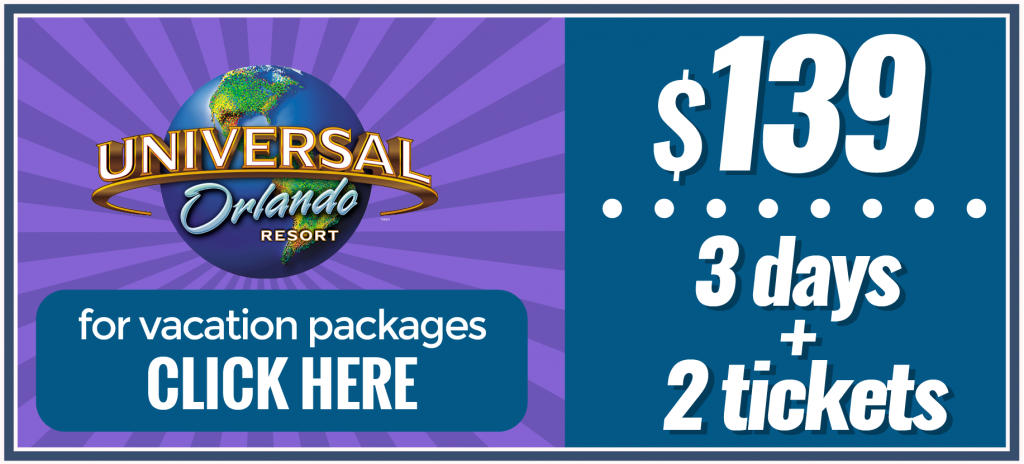 Universal Studios Packages With Hotel And Tickets