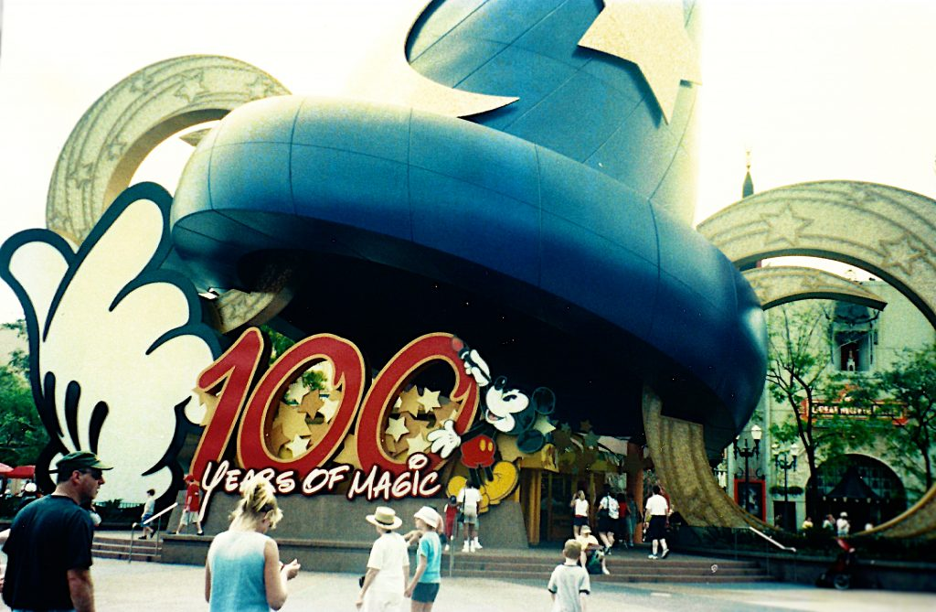Walt Disney 100 Years of Magic Celebration