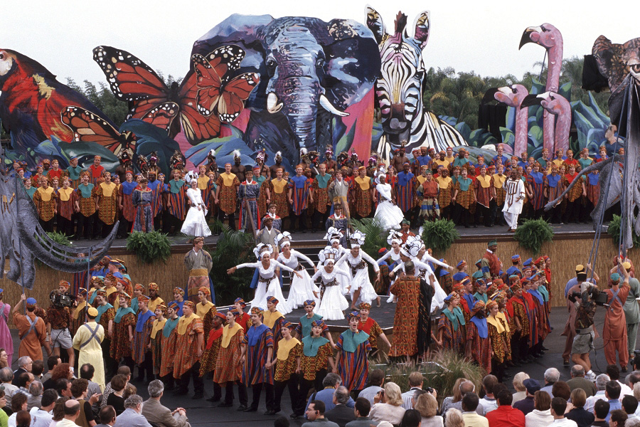 Disney's Animal Kingdom Opening Day Ceremony