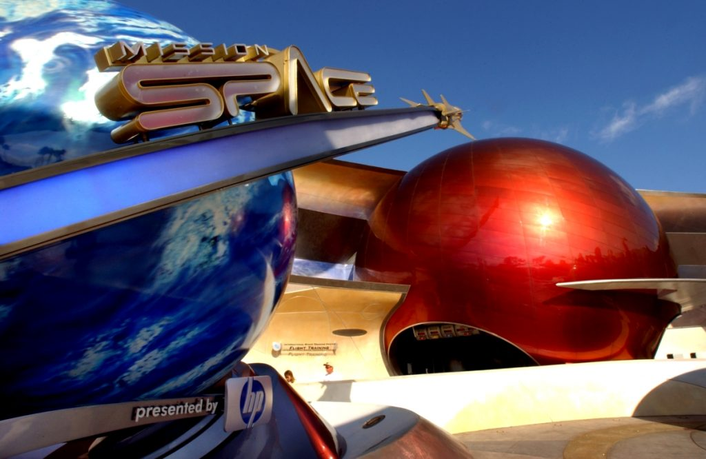 Epcot's Mission: Space