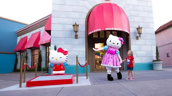 Image result for hello kitty store universal