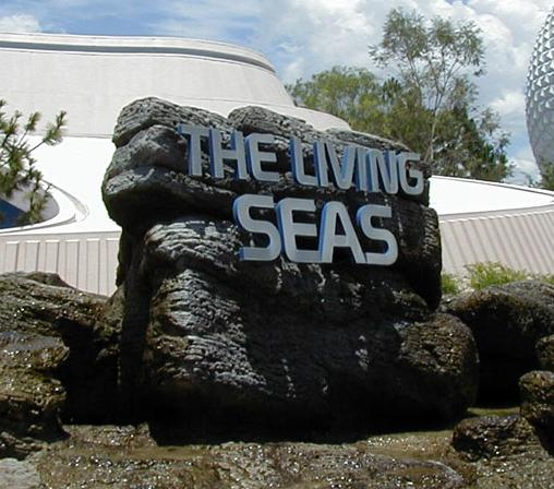 Living Seas Entrance