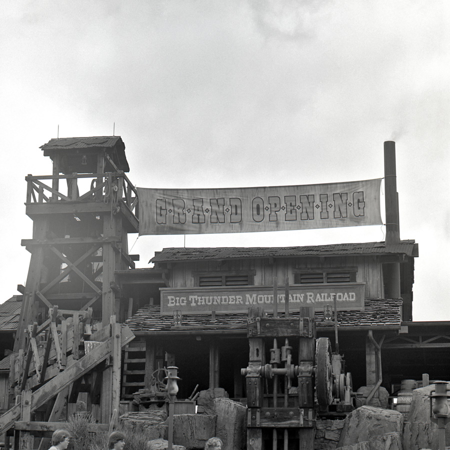The Big Thunder Mountain Railroad - 1980