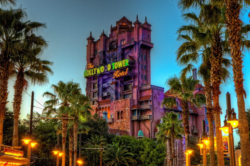 WDW Tower of Terror Disney Hollywood Studios