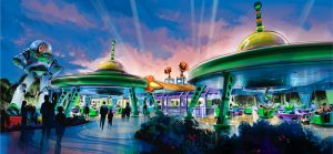 WDW Toy Story Alien Swirling Saucers