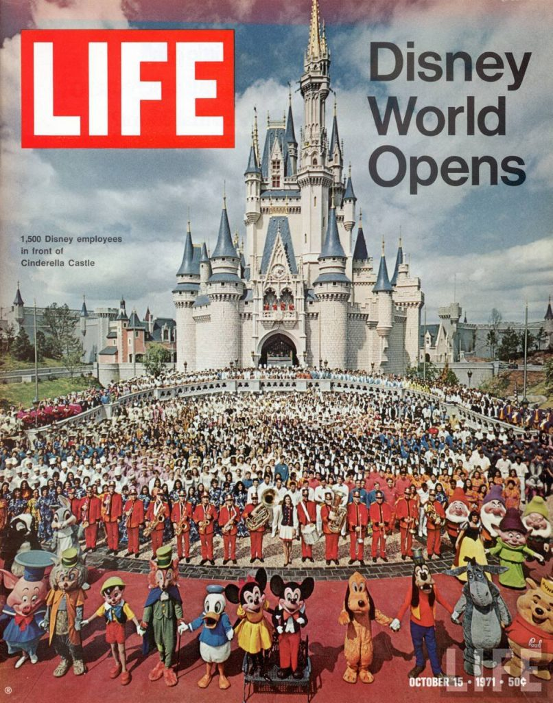 disney world opens