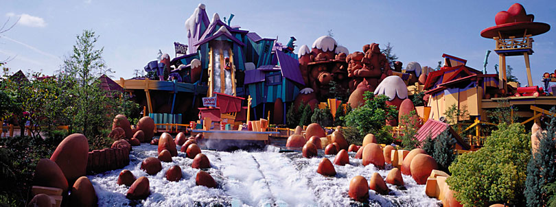 Islands of Adventure Universal Orlando Dudley Do Right flume ride image