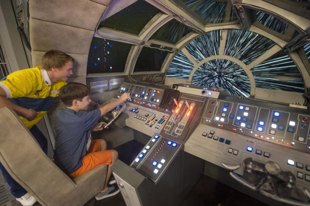 You Re In Control On The New Disney S Millennium Falcon
