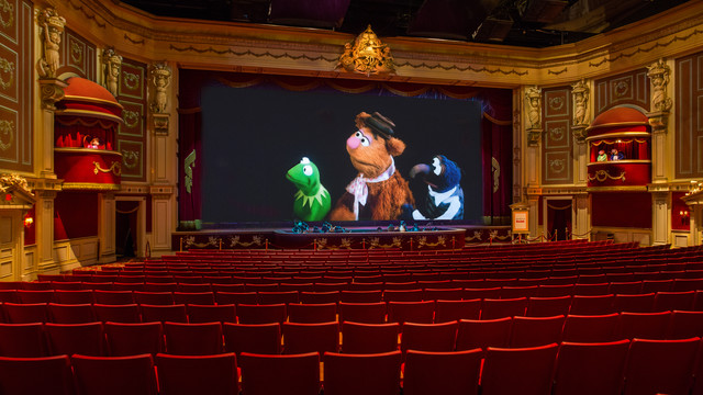 WDW HS Muppet Vision 3D interior