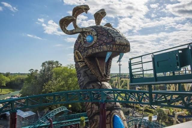 Busch Gardens Cobras Curse head of cobra image