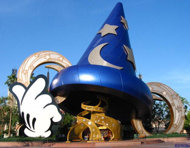 Disneyworld Hollywood Studios enrance view
