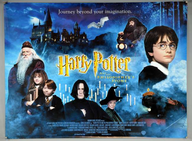 Harry Potter & the Sorcerer's Stone movie poster