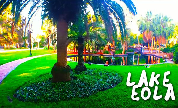 Lake Eola with name for featured image