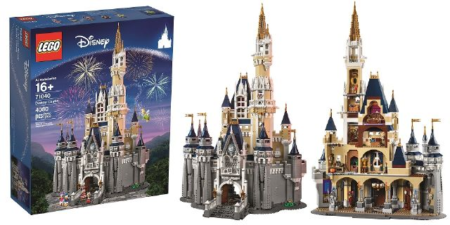 Lego Is Selling A Disney Castle Orlando Tickets Hotels