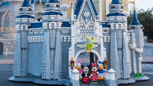 LEGO Is Selling a Disney Castle! - Orlando Tickets, Hotels, Packages