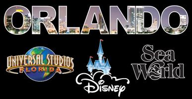 Orlando Theme Parks black background image