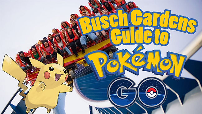 Pokemon Go Busch Gardens Guide