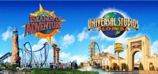 Universal & Islands of Adventure logo images