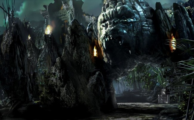 Universal Orlando Skull Island Reign of Kong ride entrance image
