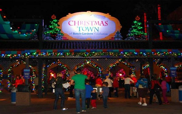 Christmas town christmas at busch gardens orlando tickets hotels packages for Busch gardens christmas town 2016