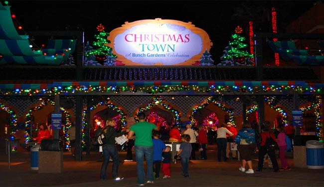 christmas town christmas at busch gardens orlando tickets hotels packages