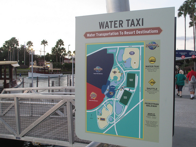 Universal Citywalk Water Taxis