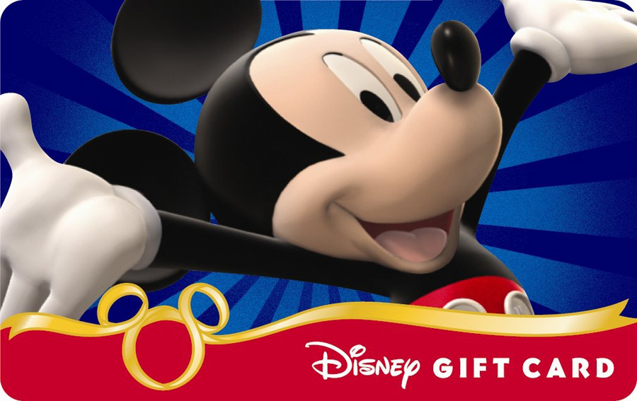 Disney now offers eGift cards - Orlando Tickets, Hotels, Packages