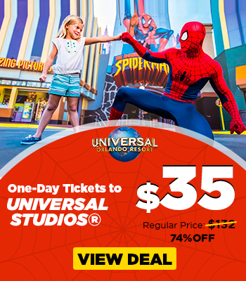 $35 – 1 Universal Orlando Ticket 1 Day_SPIDERMAN