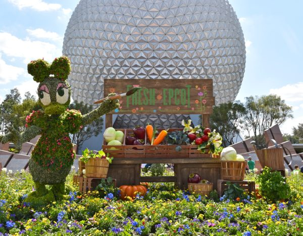 Epcot International Flower and Gardens Festival