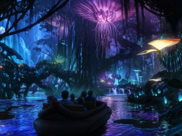 First guests ever to experience Pandora – The World of Avatar