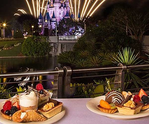 Happily Ever After Fireworks Dessert Party At Disney Magic
