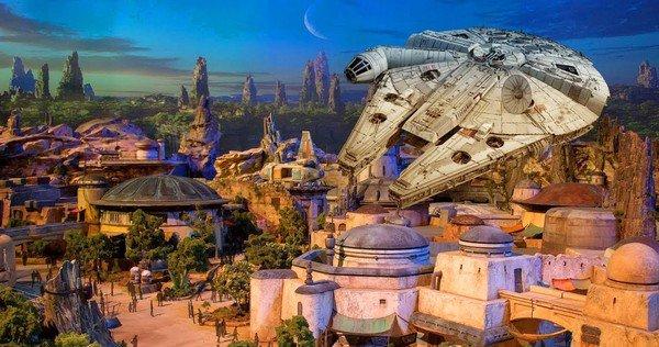 Star Wars Galaxy's Edge Model Segment Unveiled at Disney's Hollywood Studio