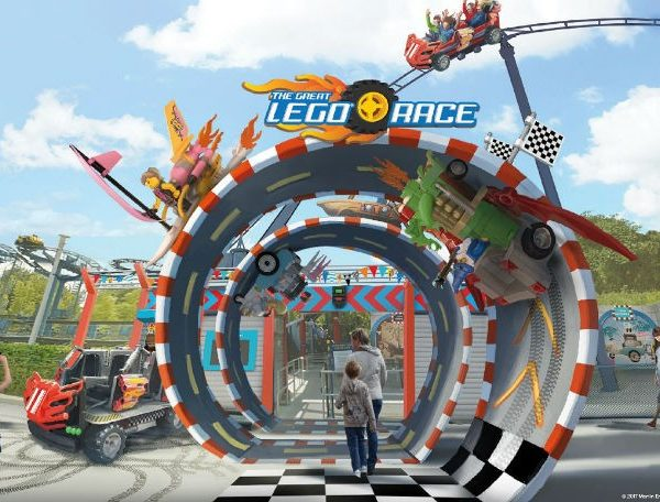 The Great Lego Race VR Coaster