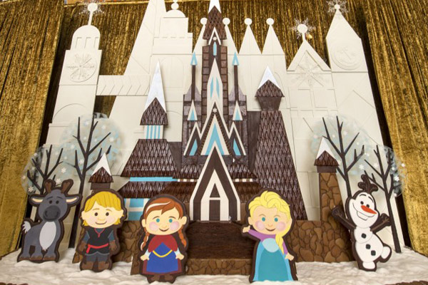 New Gingerbread Cinderella Castle at Disney's Contemporary Resort