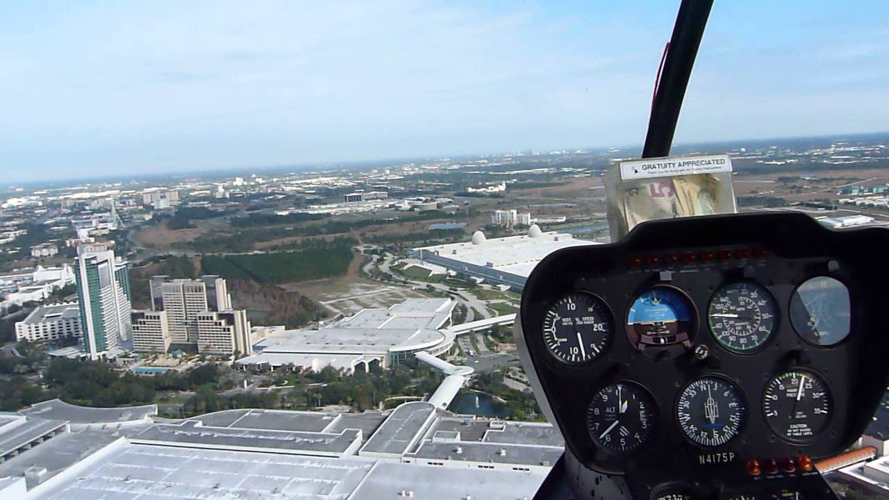 Take a Helicopter Tour of Orlando