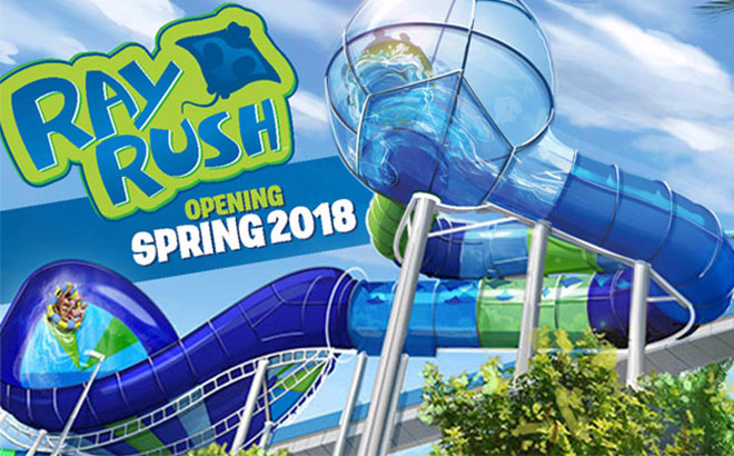 Aquatica Orlando Ray Rush Construction Update Orlando