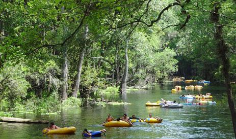 Tubing At Ichetucknee Springs State Park Orlando Tickets