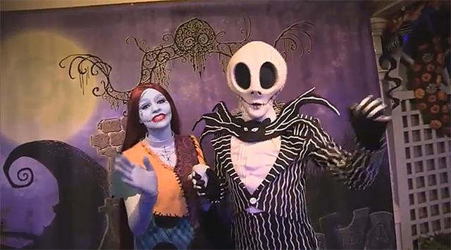Jack Skellington Amp Sally Meet Amp Greet At Mickey S Not So Scary Halloween Party 2018 Orlando