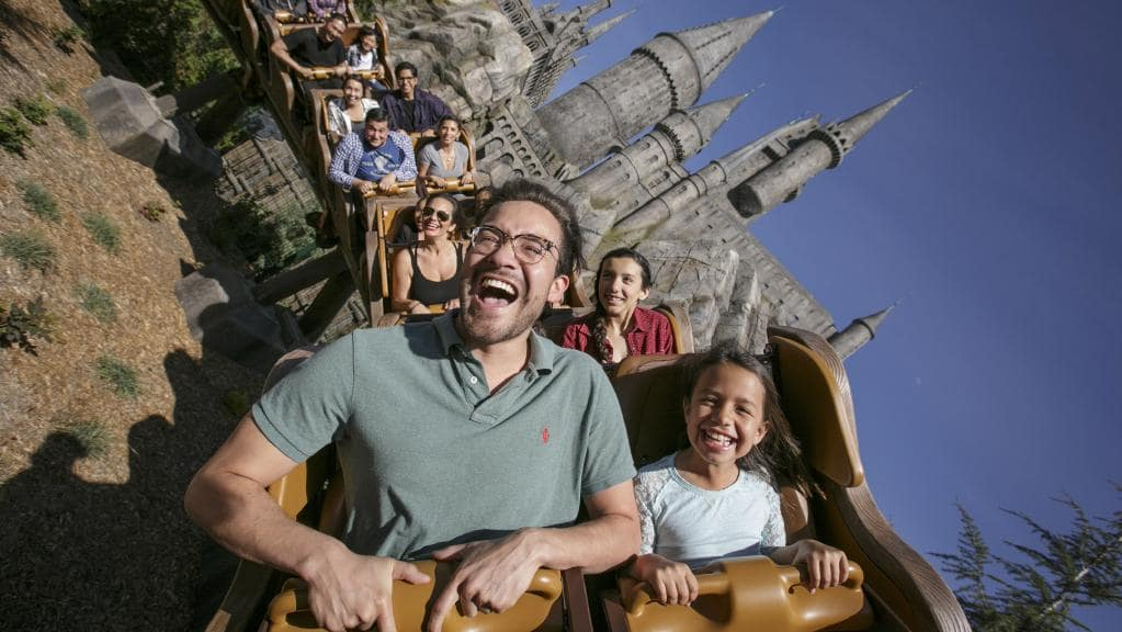 harry potter roller coaster